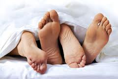 couples feet