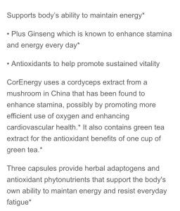 Corenergy description
