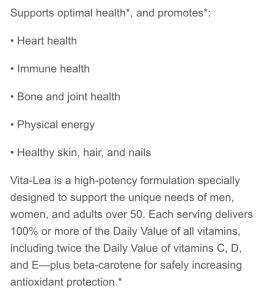 vita lea description